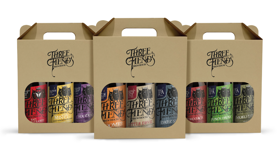 Gift Pack - Three Fiends Brewhouse