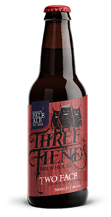 Two Face 4.0% Session Pale Ale - Three Fiends Brewhouse