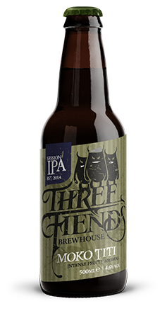 Moko Titi 4.6% Session IPA - Three Fiends Brewhouse