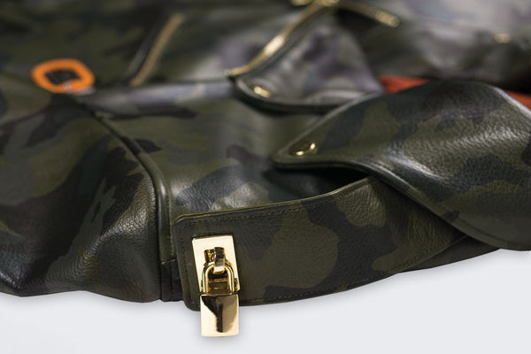 Men's Camo Rosemont Moto Jacket