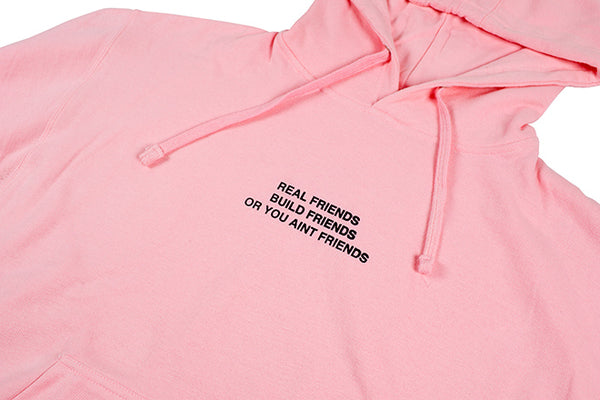 Real Friends Build Friends or You Aint Friends // PosterChild Merch