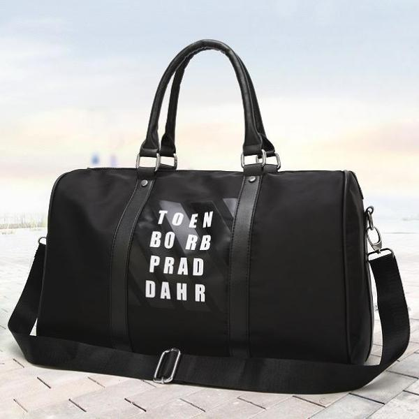 Letter Oxford Sport  Bag - Travelling