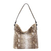 Animal Print Hobo Bag