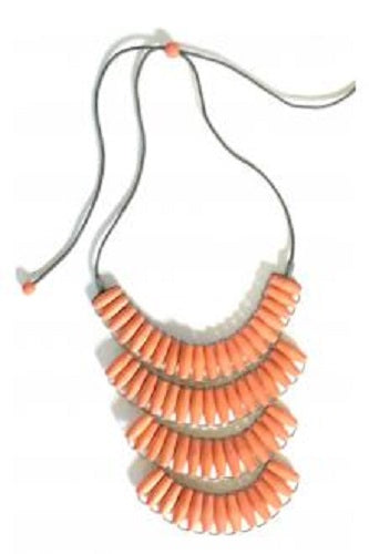 Terracotta Beaded Necklace