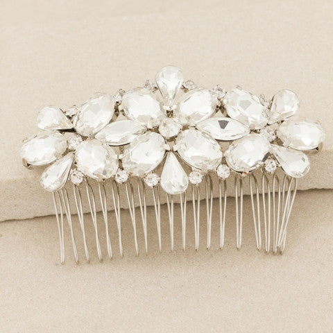 Jewelled Hair Comb - Allure Bags and Essentials  - 2