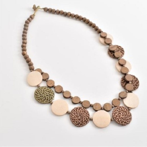 Weslee Timber Necklace