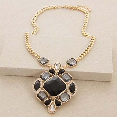 Jewelled Pendant Necklace