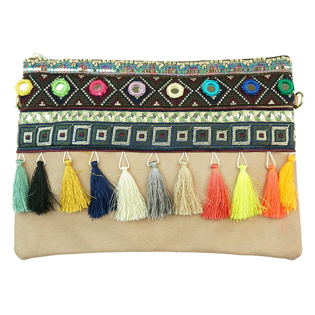 Mandala Clutch Cross Body Bag