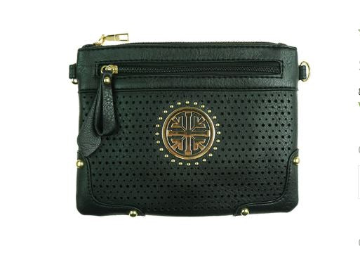 Clutch Cross Body Bag- Black