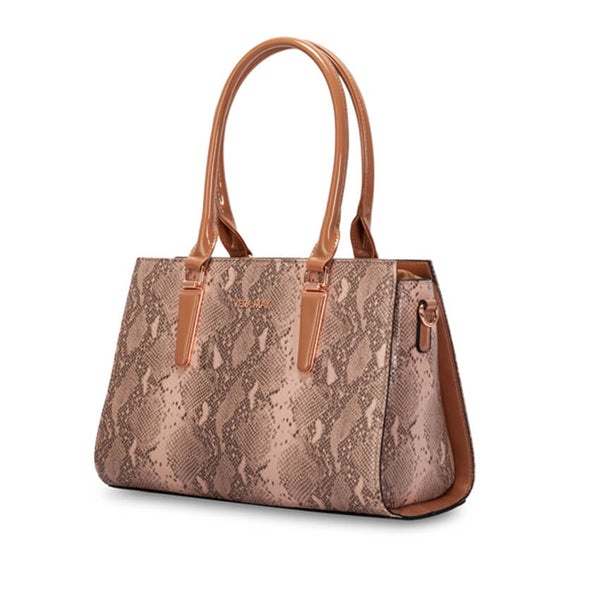 Bianca Snakeskin Fashion Handbag