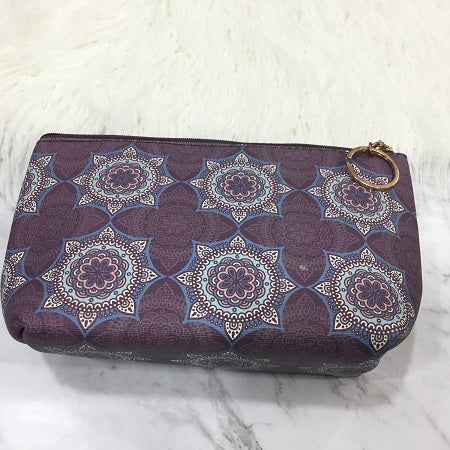Patterned Cosmetic Bag