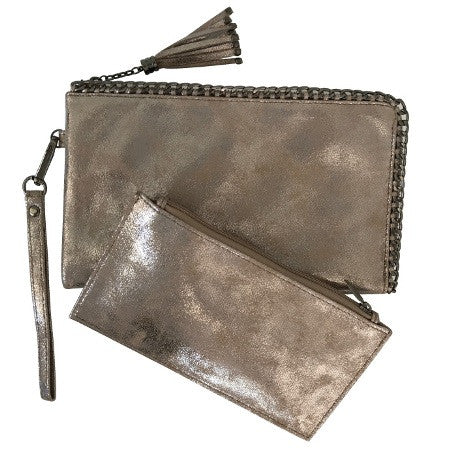 Bellini Zip Clutch various colours