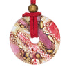Candy Round Glass Pendant Necklace