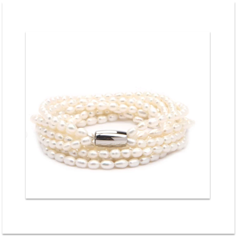 Freshwater Pearl Bracelet or Necklet - Allure Bags and Essentials