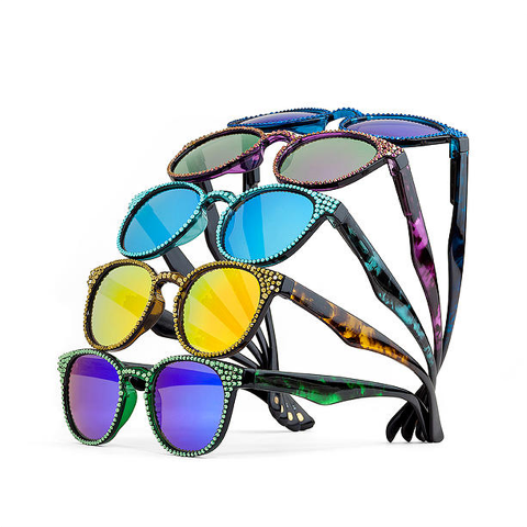 Jimmy Crystal Sunglasses uv400 Xmas special 15% off - Allure Bags and Essentials  - 1