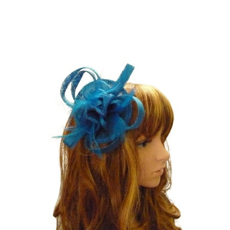 Fascinator /Comb Blue - Allure Bags and Essentials