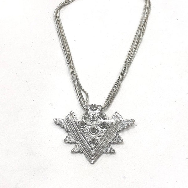 Zoda Triangle Necklace