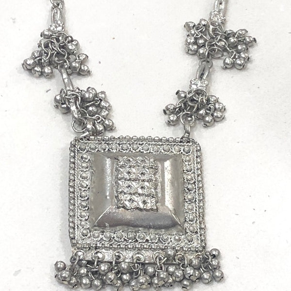 Zoda Square Necklace