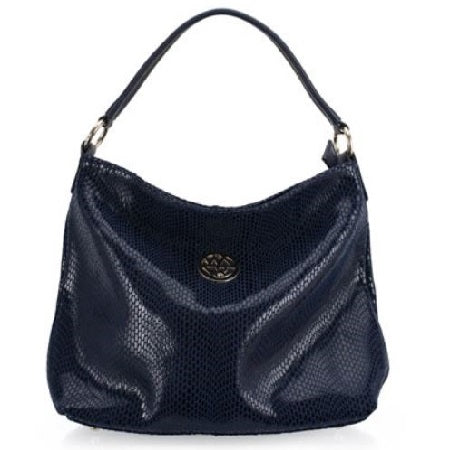 Leah Hobo Leather Handbag