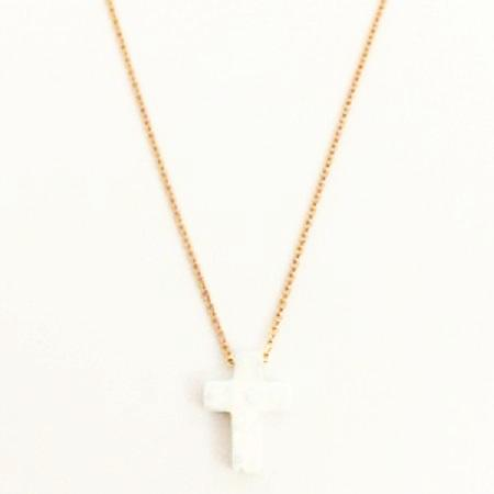 Cross Opalite Necklace