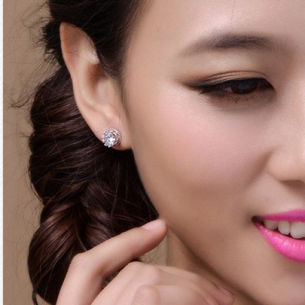 Studded Diamante Earrings