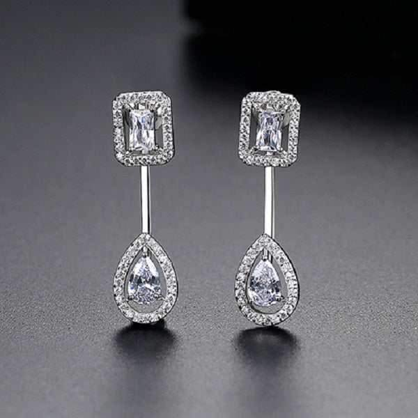 Personality Zircon Earrings