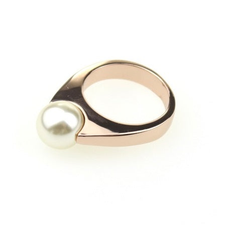 Dome Pearl Ring