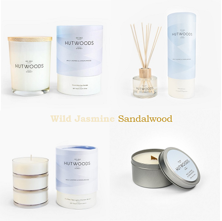 Wild Jasmine & Sandalwood 'New Beginnings'