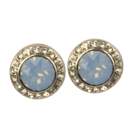Amelia Stud Earrings Silver