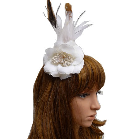 Fascinator Clip Cream