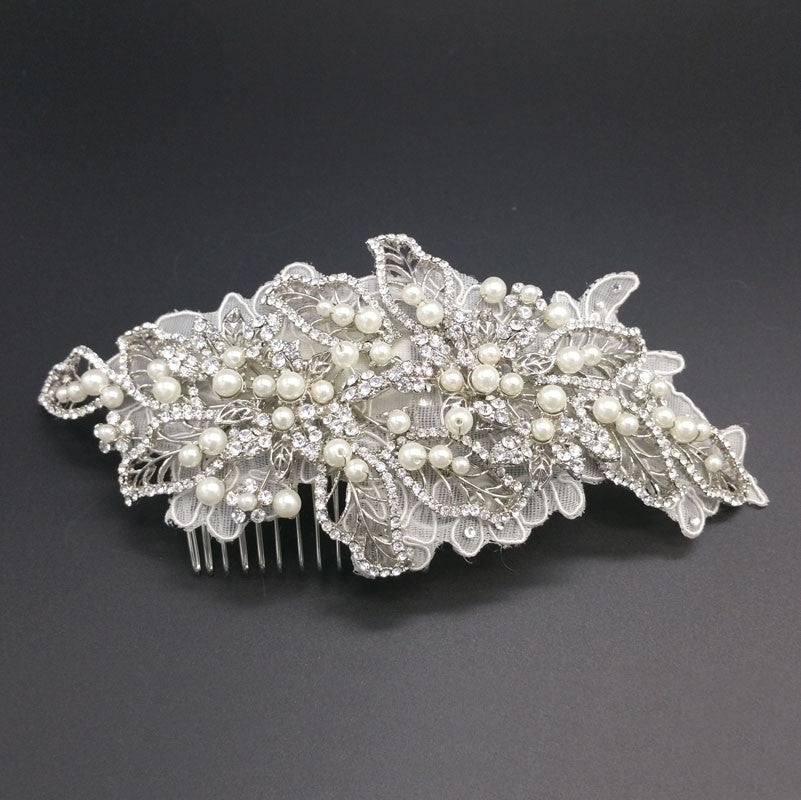 Monique | Ornate Crystal Headpiece - Allure Bags and Essentials  - 1