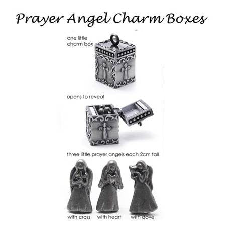 Prayer box and charm - Allure Bags and Essentials  - 1