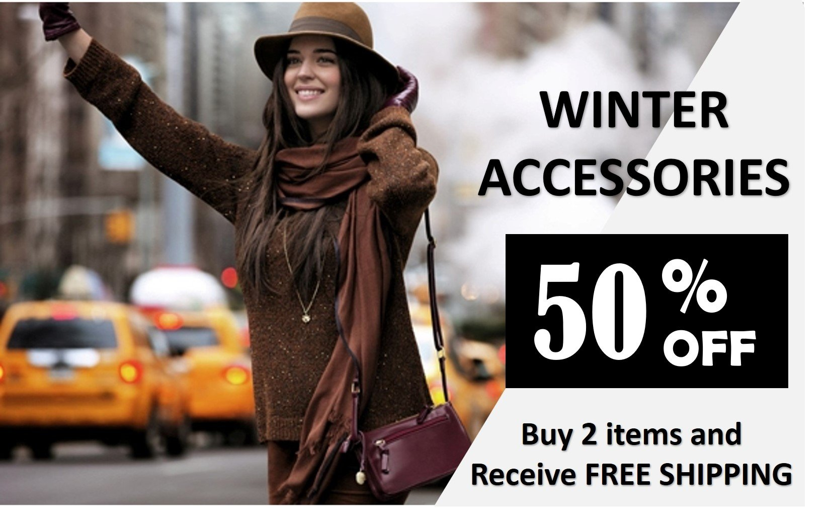 WINTER STOCK 50% OFF