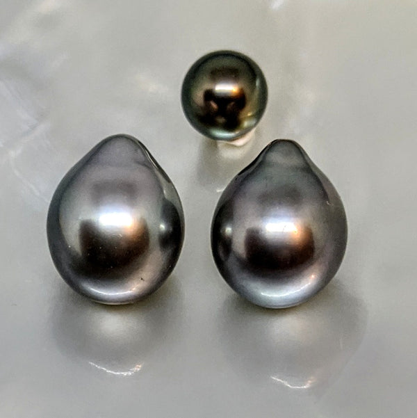 Tahitian Drop Twins 10 mm