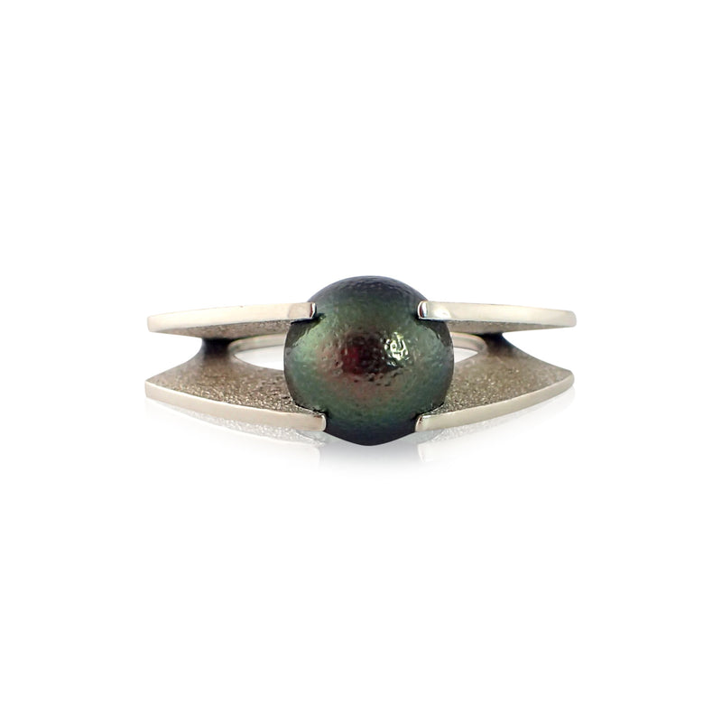 Tension Pearl Ring