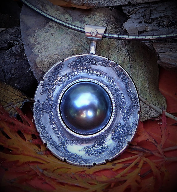 Blue Moon Pendant
