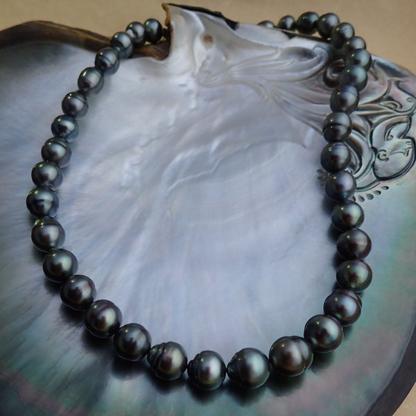Tahitian Grey Pearlicious Necklace
