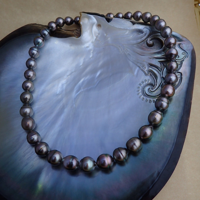 Tahitian Peacock Pearlicious Necklace