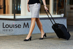 Louise M best cabin crew shoes in the world by form flight attendant. Made in Italy.