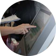 Carry your ticket for airport check in