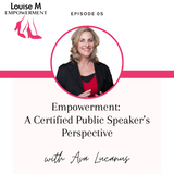 Louise M shoes Empowerment series with Founder Louise Matson and Ava Lucanus, Edge Communication