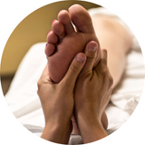 Louise M recommends asking your partner for a foot massage.