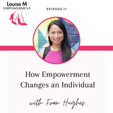 Louise M shoes Empowerment series with Louise Matson and Fran Hughes