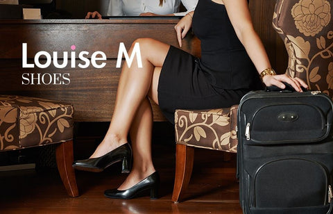 Louise M shoes for airline cabin crew best shoes