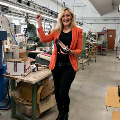 Louise M Founder Louise Matson Corporate Shoes Made in Italy