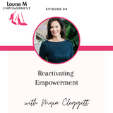 Louise M Empowerment with Louise M shoes Founder Louise Matson and Myia Cleggett, Mind Motivation Coaching
