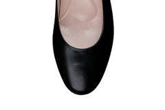 Comfortable round toe classic flat for work wear or fashion. Home of office.