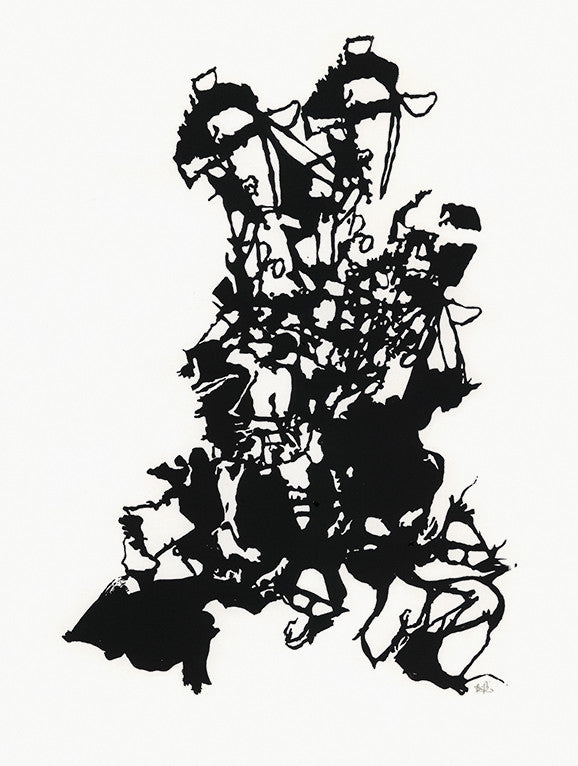 Ink Drawing, 2008. Briony Barr