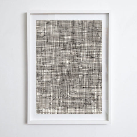 Grid Drawing, 2019. Briony Barr
