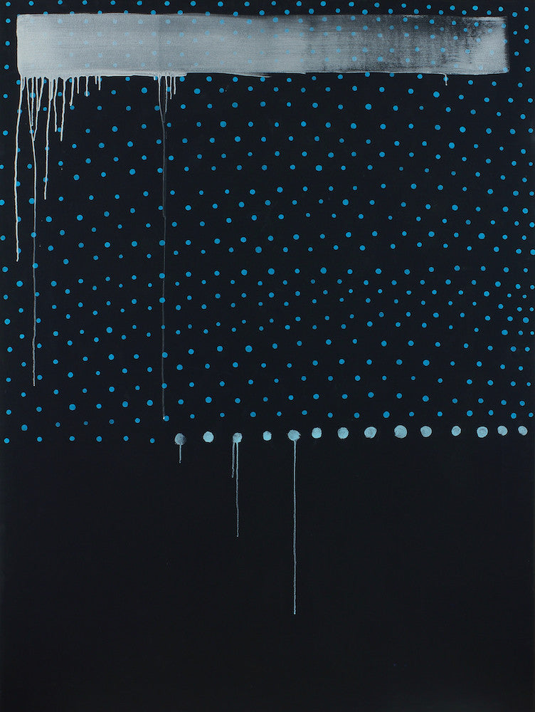 Blue Dunabe (for Margie), 2013. Kimberly Rowe